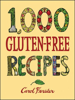 Click this cover for a(n) eBook sample of 1,000 Gluten-Free Recipes.