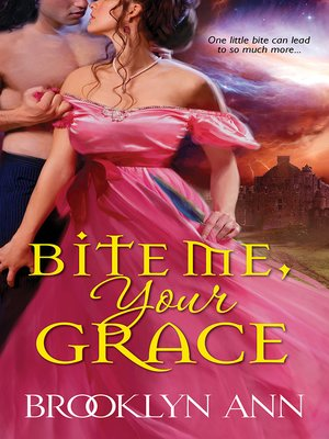 Click this cover for a(n) eBook sample of Bite Me, Your Grace.