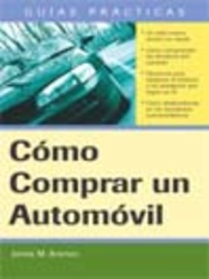 Click this cover for a(n) eBook sample of Cómo Comprar un Automóvil
