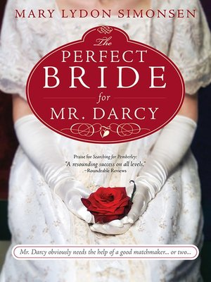 Cover of The Perfect Bride for Mr. Darcy