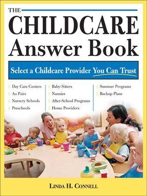 Click this cover for a(n) eBook sample of The Childcare Answer Book