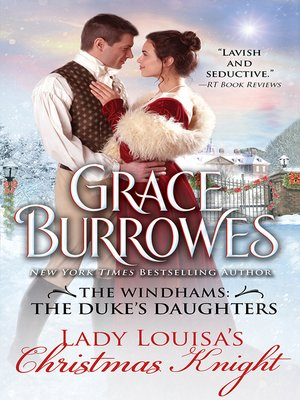 Click this cover for a(n) eBook sample of Lady Louisa's Christmas Knight.