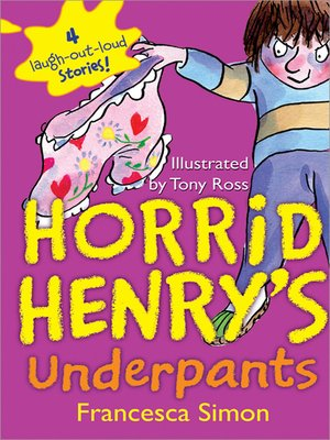 Cover of Horrid Henry's Underpants