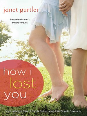 Click this cover for a(n) eBook sample of How I Lost You