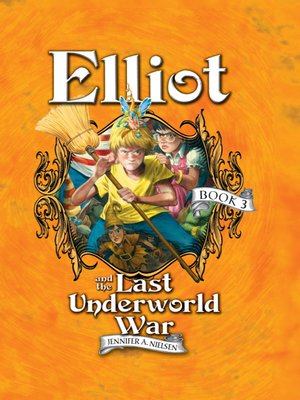 Click this cover for a(n) eBook sample of Elliot and the Last Underworld War.