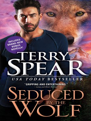 Click this cover for a(n) eBook sample of Seduced by the Wolf.