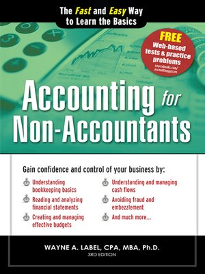 Click this cover for a(n) eBook sample of Accounting for Non-Accountants.