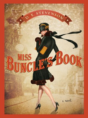 Click this cover for a(n) eBook sample of Miss Buncle's Book