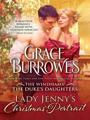 Click this cover for a(n) eBook sample of Lady Jenny's Christmas Portrait