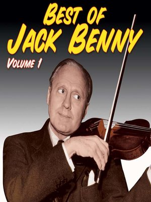 Cover of Best of Jack Benny, Volume 1