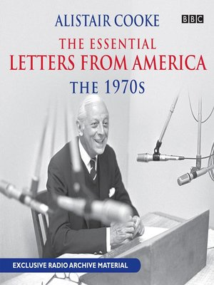 Cover of Alistair Cooke: The Essential Letters from America