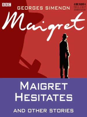 Cover of Maigret Hesitates