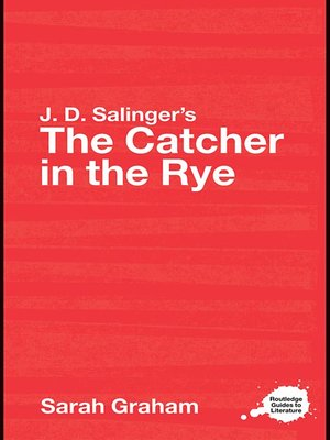 Cover of J.D. Salinger's The Catcher in the Rye