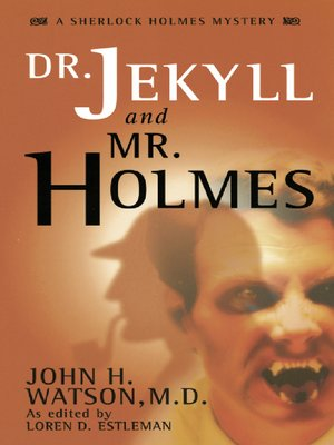 Click this cover for a(n) eBook sample of Dr. Jekyll and Mr. Holmes.