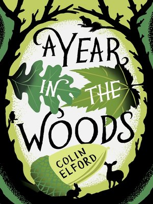 Click this cover for a(n) eBook sample of A Year in the Woods.