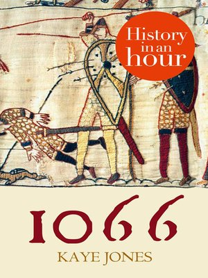 Click this cover for a(n) eBook sample of 1066 in an Hour