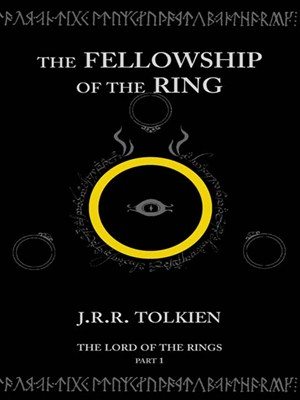 Click this cover for a(n) eBook sample of The Fellowship of the Ring
