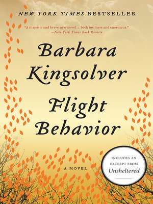 Click this cover for a(n) eBook sample of Flight Behavior.