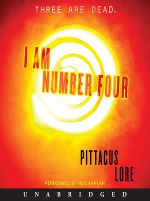 Click this cover for a(n) Audiobook sample of I Am Number Four.