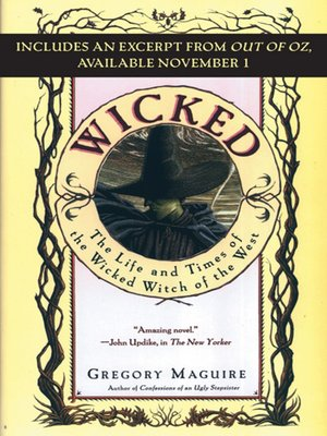 Cover of Wicked with Bonus Material