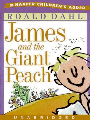 Click this cover for a(n) Audiobook sample of James and the Giant Peach.