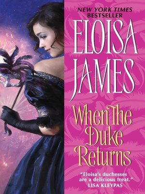 Click this cover for a(n) eBook sample of When the Duke Returns.
