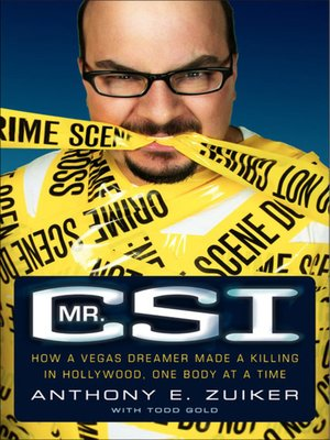 Click this cover for a(n) eBook sample of Mr. CSI.