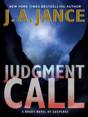 Click this cover for a(n) eBook sample of Judgment Call