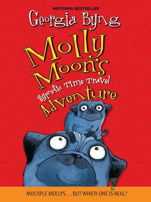 Cover of Molly Moon's Hypnotic Time Travel Adventure