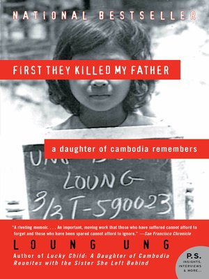Cover of First They Killed My Father