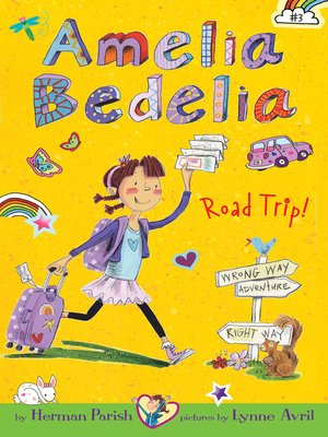 Click this cover for a(n) eBook sample of Amelia Bedelia Chapter Book #3