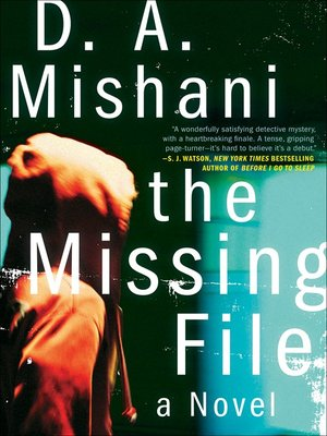 Click this cover for a(n) eBook sample of The Missing File