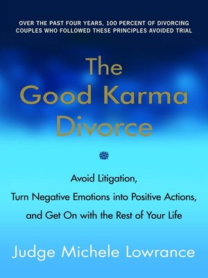 Click this cover for a(n) eBook sample of The Good Karma Divorce