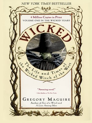 Click this cover for a(n) eBook sample of Wicked: The Life and Times of the Wicked Witch of the West.