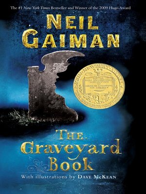 Click this cover for a(n) eBook sample of The Graveyard Book.