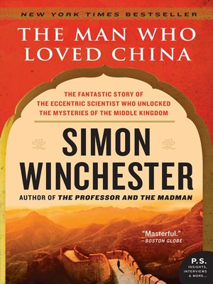 Click this cover for a(n) eBook sample of The Man Who Loved China.
