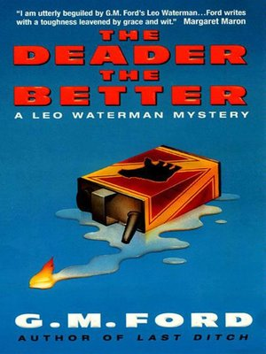 Click this cover for a(n) eBook sample of The Deader the Better.