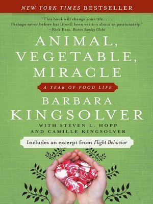Click this cover for a(n) eBook sample of Animal, Vegetable, Miracle.