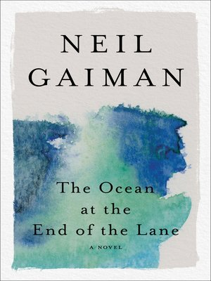 Click this cover for a(n) eBook sample of The Ocean at the End of the Lane.