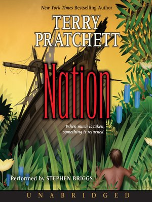 Click this cover for a(n) Audiobook sample of Nation.
