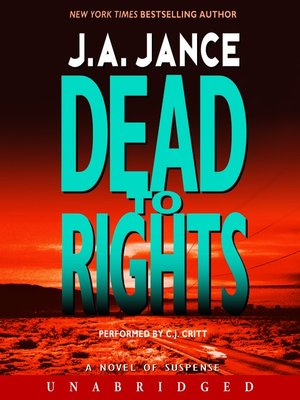 Click this cover for a(n) Audiobook sample of Dead to Rights.