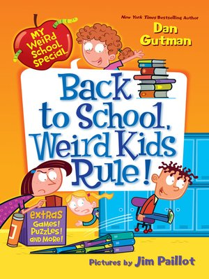 Cover of Back to School, Weird Kids Rule!