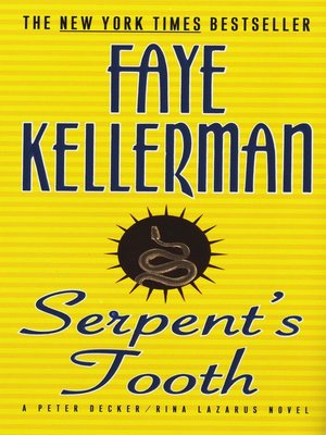 Click this cover for a(n) eBook sample of Serpent's Tooth.