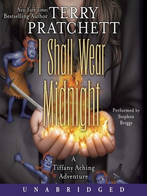 Click this cover for a(n) Audiobook sample of I Shall Wear Midnight