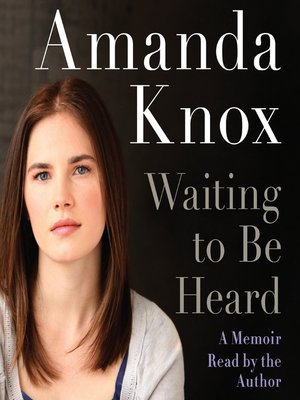 Click this cover for a(n) Audiobook sample of Waiting to be Heard.