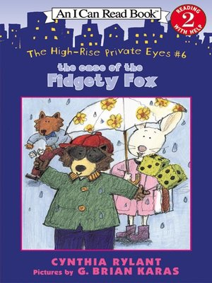 Cover of The Case of the Fidgety Fox