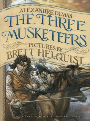 Click this cover for a(n) eBook sample of The Three Musketeers.