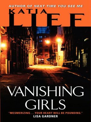 Click this cover for a(n) eBook sample of Vanishing Girls.