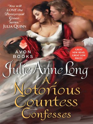 Click this cover for a(n) eBook sample of A Notorious Countess Confesses.