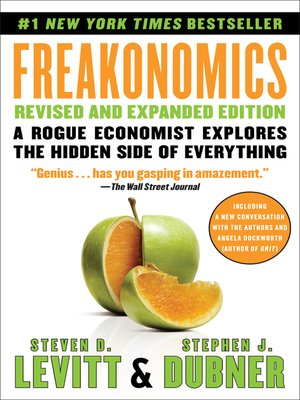 Click this cover for a(n) eBook sample of Freakonomics.